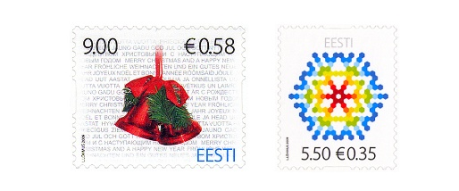 Estonia Christmas Stamps 2009