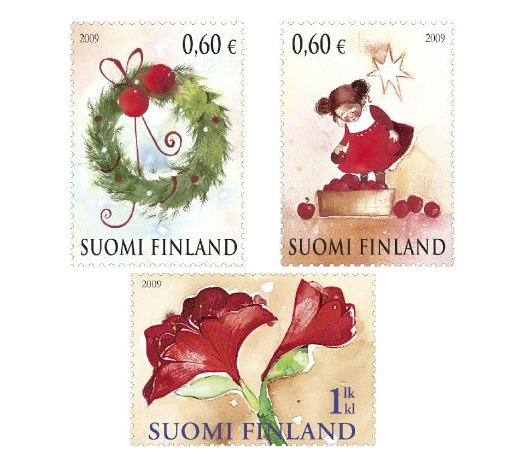 Finland Christmas Stamps 2009