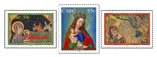 Ireland Christmas Stamps 2009