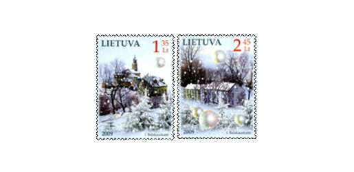 Liechtenstein Christmas Stamps 2009