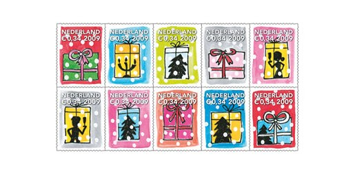 Netherlands Christmas Stamps 2009