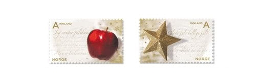 Norway Christmas Stamps 2009