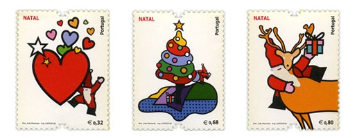 Portugal Christmas Stamps 2009