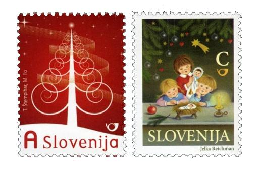 Slovenia Christmas Stamps 2009