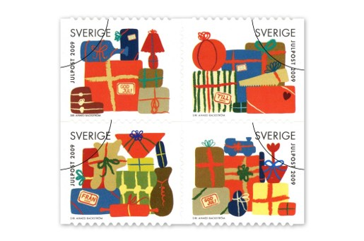 Sweden Christmas Stamps 2009