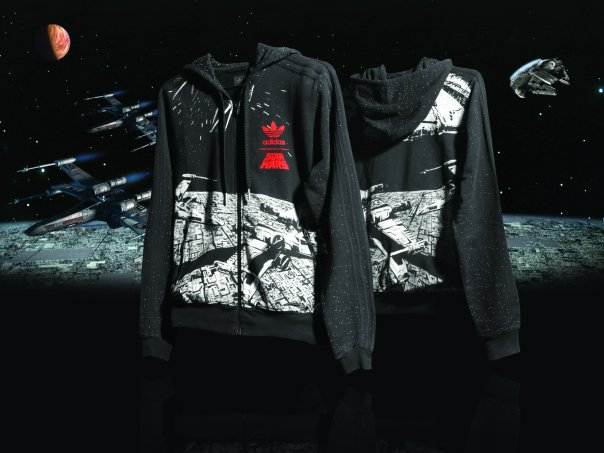 Adidas Star Wars Hooded Flock