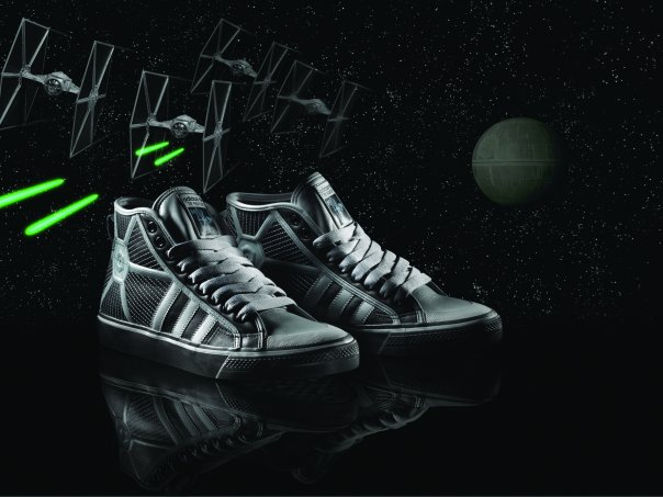 Adidas Tie Fighter Nizza Shoes