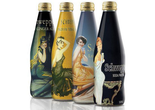 Schweppes Limited Edition beverages