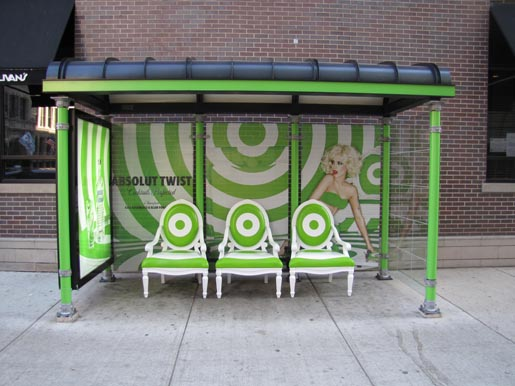 Absolut Twist Bus Shelter