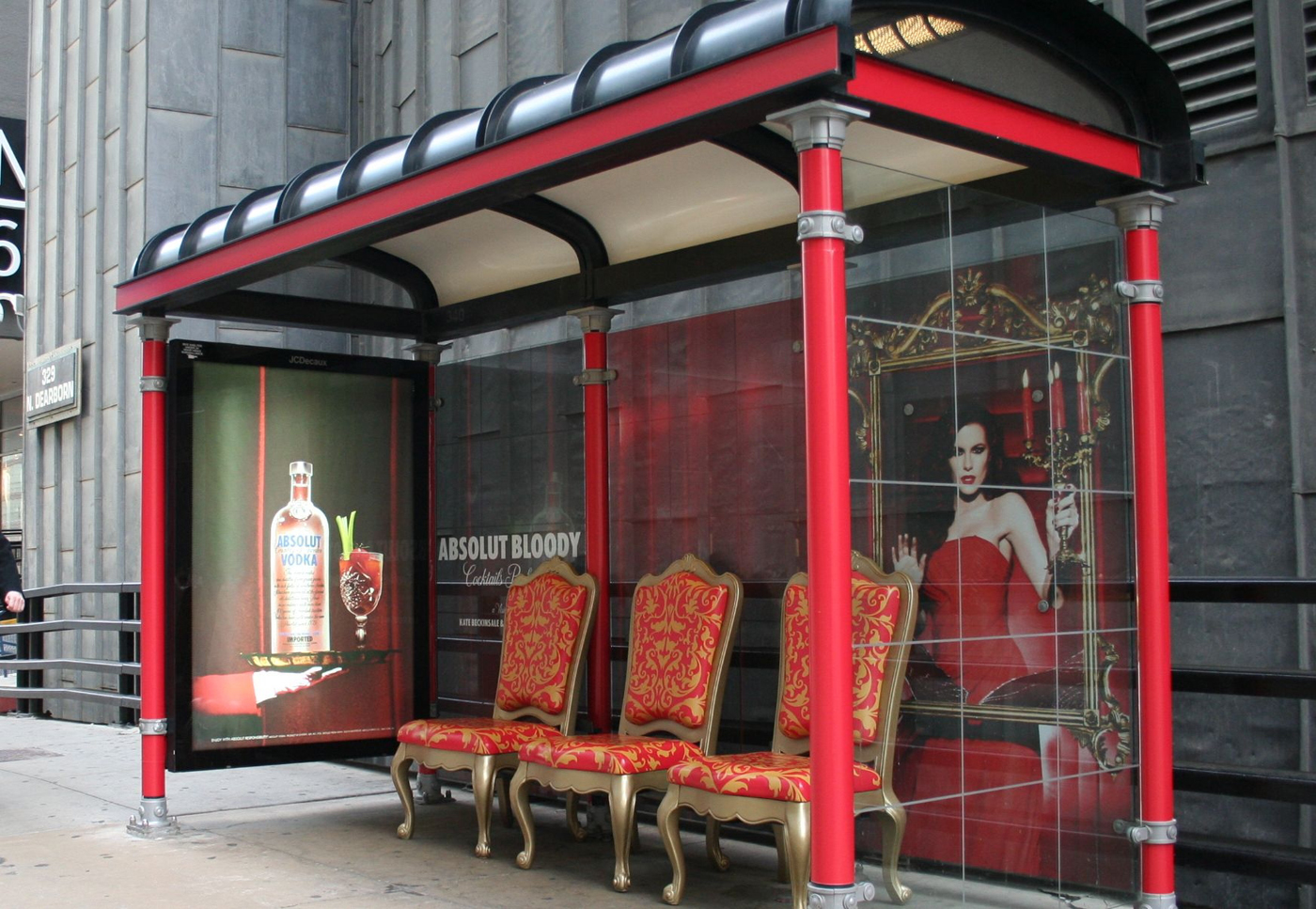 Bus Stop Shelters : Absolut bus shelters the inspiration room