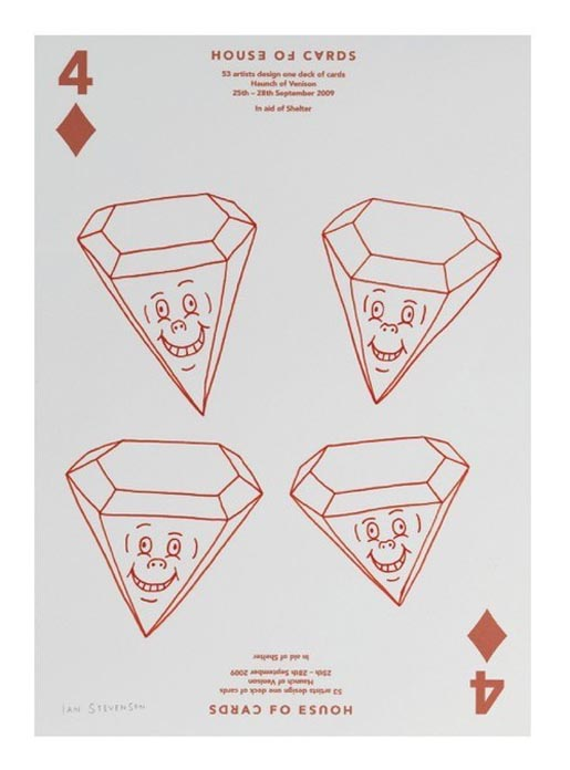House of Cards 4 of Diamonds