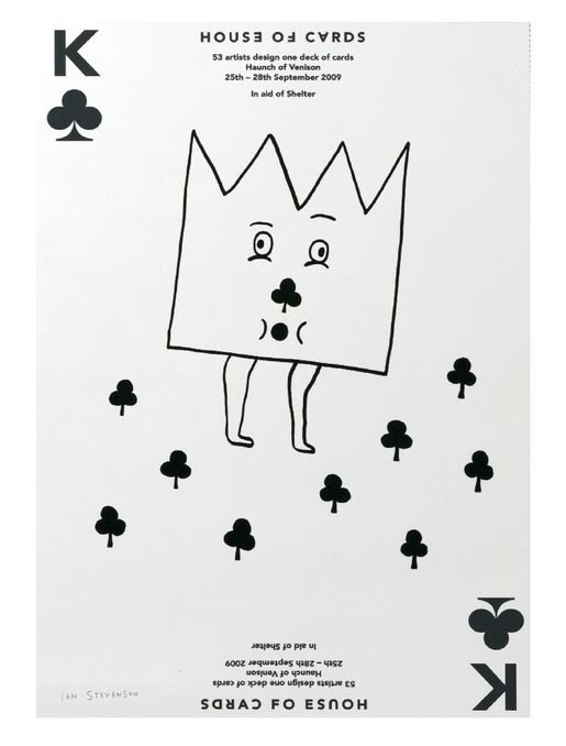 House of Cards King of Clubs