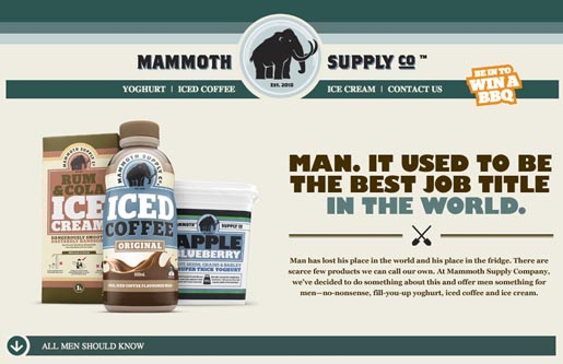 Mammoth Supply site