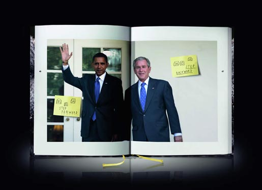 Mausetod 2.0 Death of the Mouse Step Forwards Barack Obama Step Backwards George W Bush