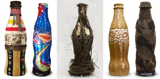 Aboriginal Coke Bottles