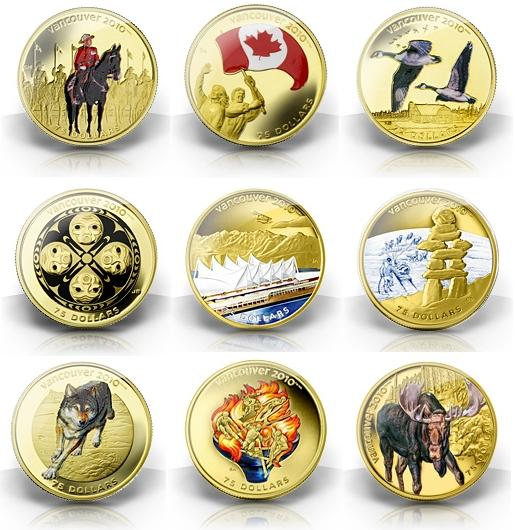 Royal Canadian Mint Hologram silver coins
