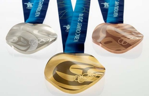 Vancouver 2010 Olympics medals