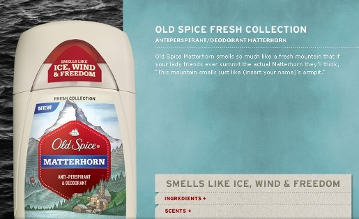Old Spice Ice Sculpture