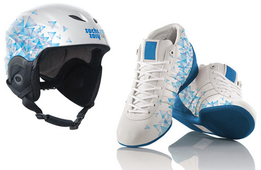 Sochi 2014 Helmet and Shoes