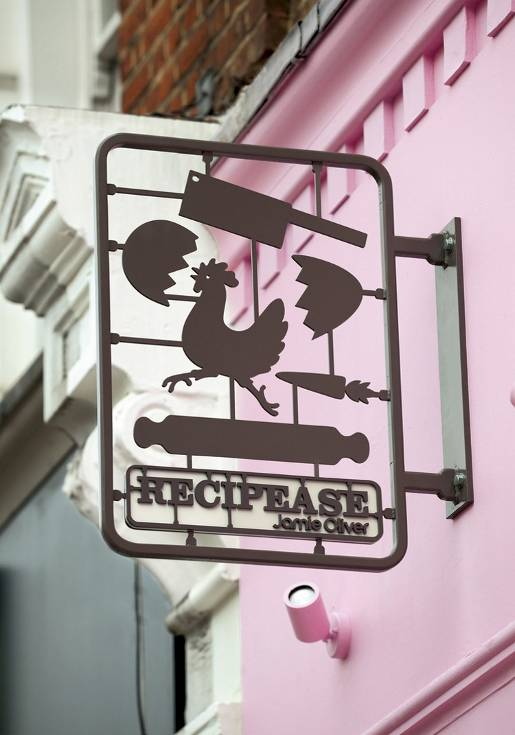 Recipease sign