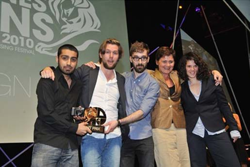 Design Grand Prix Winners at Cannes 2010