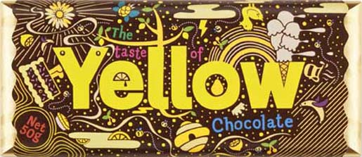 Yellow Pages Yellow Chocolate bar