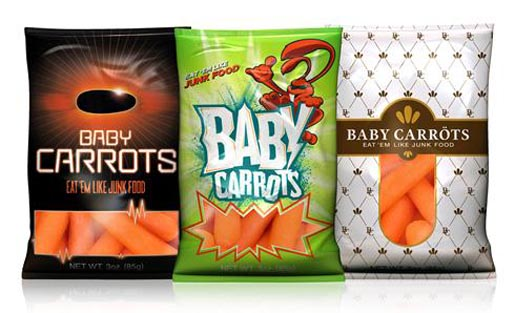 Baby Carrots Packaging