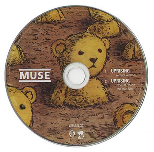 Muse Uprising CD