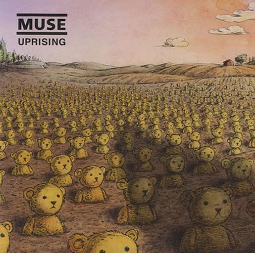 Muse Uprising Vinyl cover