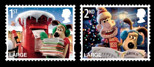 Royal Mail Wallace & Gromit stamps