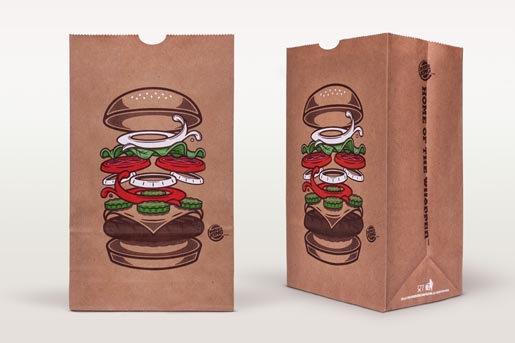 Burger King Whopper bags
