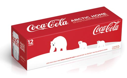 Coca Cola 12 Pack White Cans