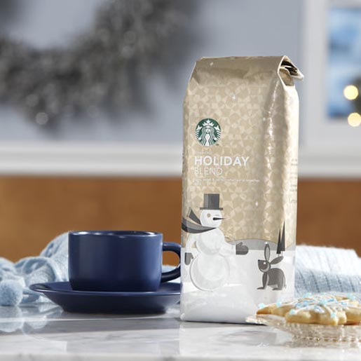 Starbucks Holiday Blend Beans