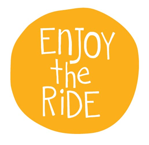 Slow Down and Enjoy The Ride logo