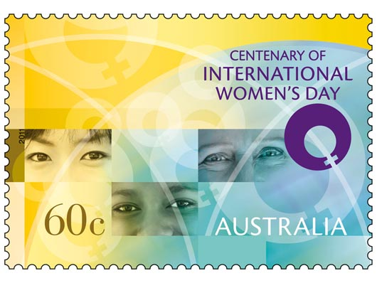 International Womens Day Stamp cover