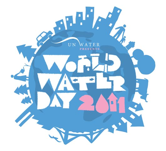 UN World Water Day Logo English