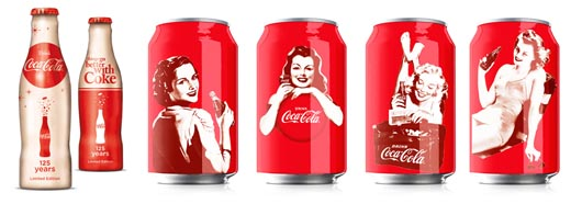 Coca Cola Vintage Design 125 Years