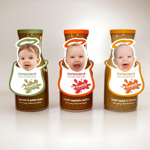Little Tasty Baby Foods Innocent Bibs