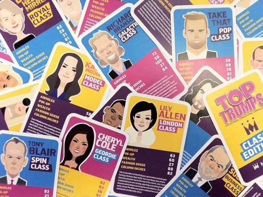 MonarchTop Trumps Class Edition Cards