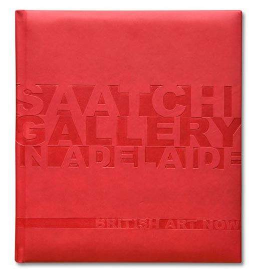 Saatchi Gallery in Adelaide Book Cover