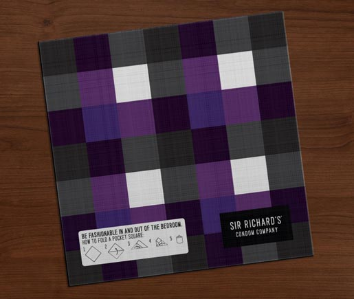 Sir Richards Pocket Square instructions