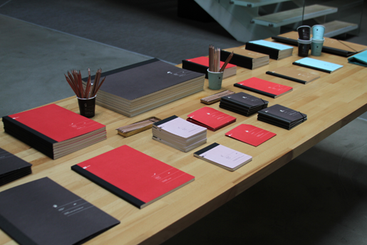 TBWA\Istanbul Stationery Table