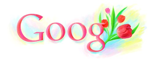 Google International Womens Day Doodle 2010