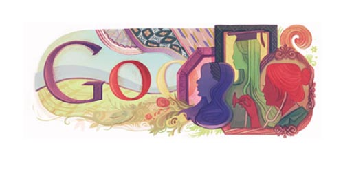 Google International Womens Day Doodle 2011