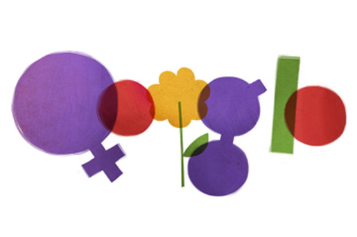 Google International Womens Day Doodle 2012