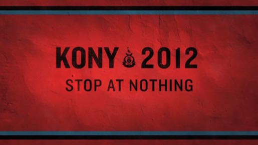 KONY 2012 Stop at Nothing poster