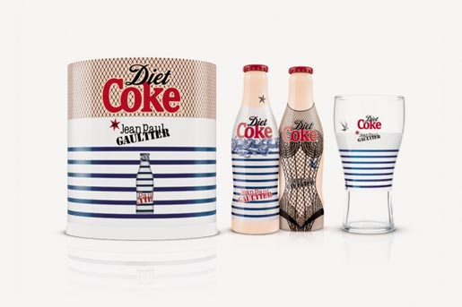 Diet Coke Jean Paul Gaultier collector set