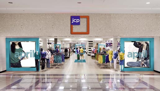 JCPenney April 2012 Store Entrance