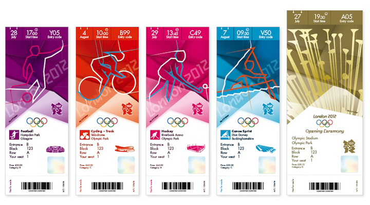 london olympics ticket design the inspiration room
