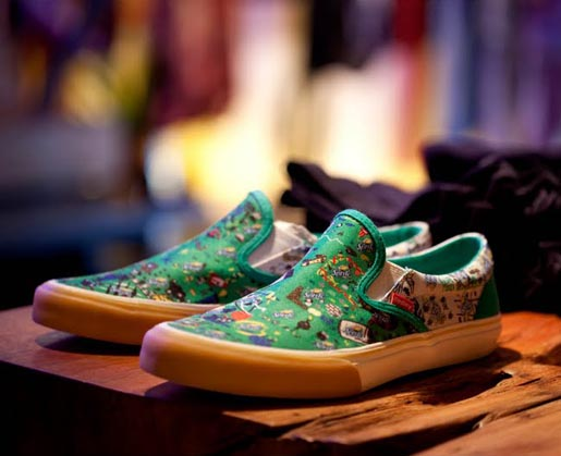 Sprite Tennis Shoes